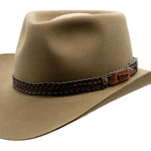 Akubra Snowy River - Genuine Leather Australian Made Hat