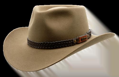Akubra Snowy River - Genuine Leather Australian Made Hat