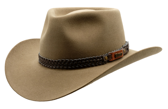 Akubra Snowy River - Genuine Leather Hat Made in Australia