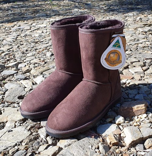 Australia Made Ugg Boots - Classic Short Uggs - Chocolate Colour
