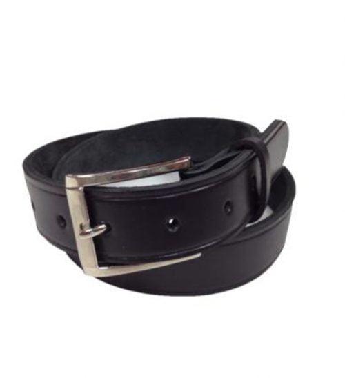 32mm Genuine Black Leather Belt in Australia