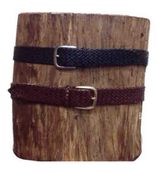 Badgery Belt with Buckle