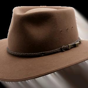 Akubra Cattlemans Hat - Genuine Leather Australian Made Hat
