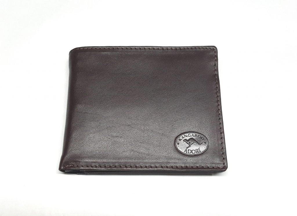 real-leather-made-in-australia-mens-wallets-brown-front-view