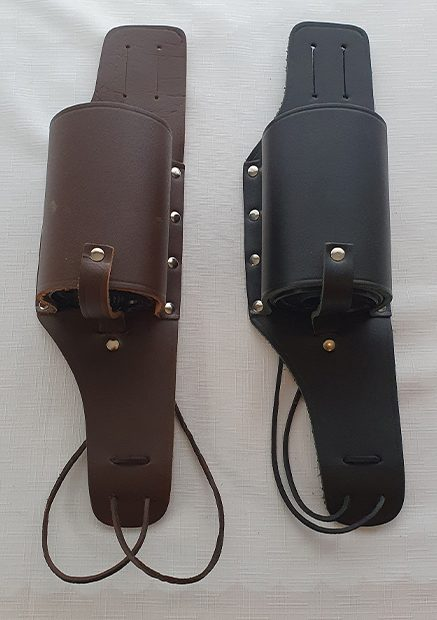 Black and Brown Wine and Beer Holsters – Unique Novelty Gift Idea