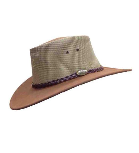 Best Australian Made Leather Hats - Summer Breeze - Mushroom