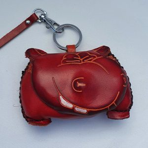Heavy Hippo - All Leather Novelty Coin Purse Made in Australia