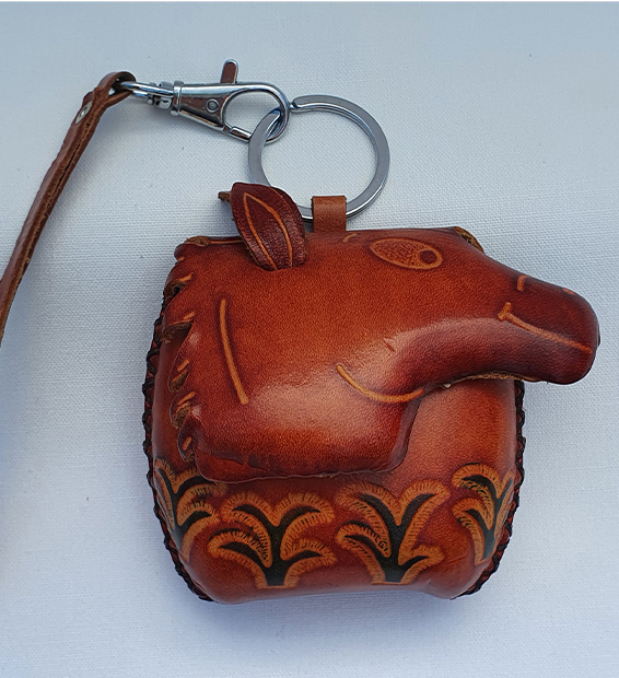 Happy Horse - All Leather Novelty Coin Purse Made in Australia