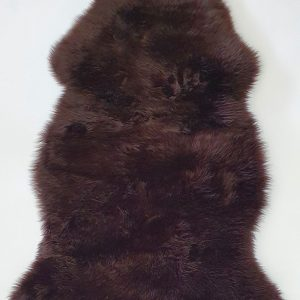 Home Decor, Long Wool Brown Sheepskin