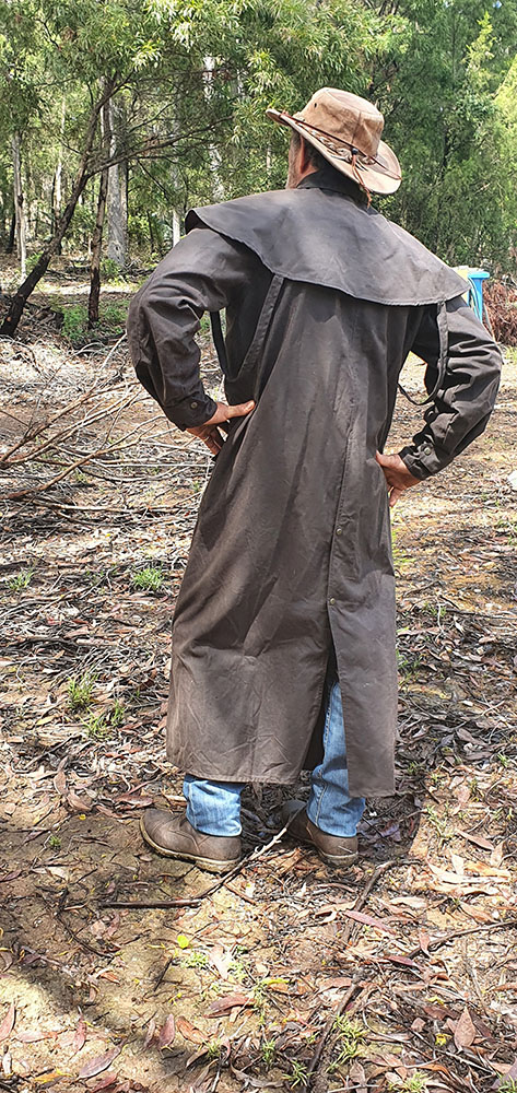 Australian Oilskin Full Length Coat