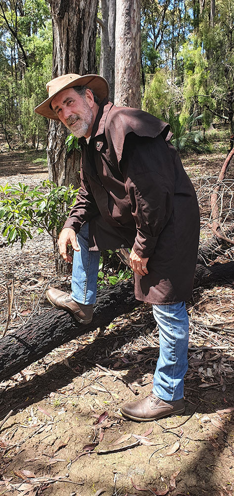 Australian Oilskin Short Coat - 3/4 Length