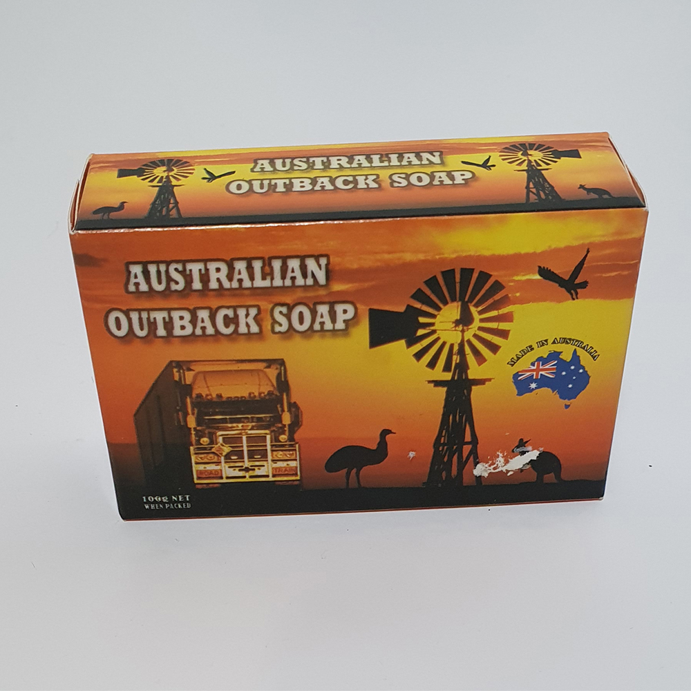 Australian Made Outback Boxed Soap