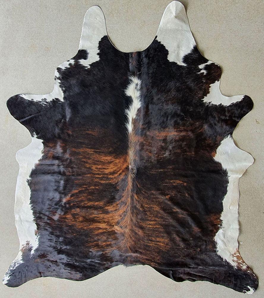 Australian dark exotic natural cow hides