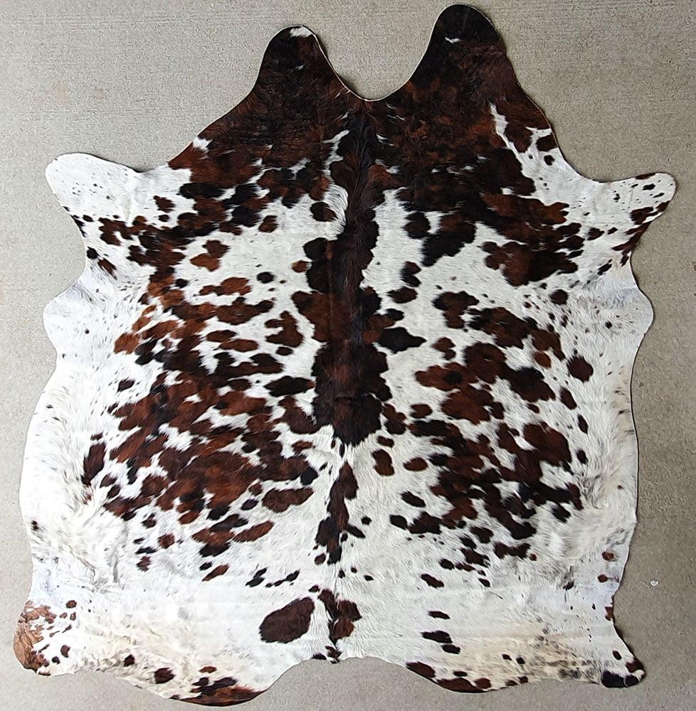 Australian tricolour natural cow hides
