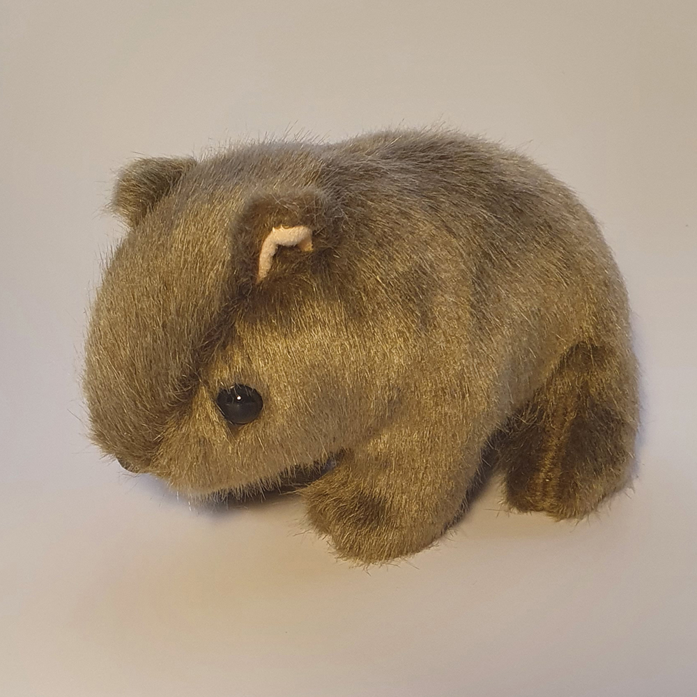 Australian Made Wombat Plush Toy
