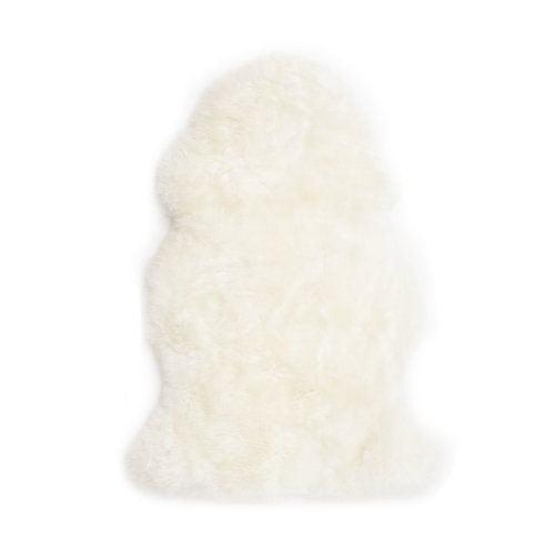 Ivory Long Wool Sheepskin Made in Australia