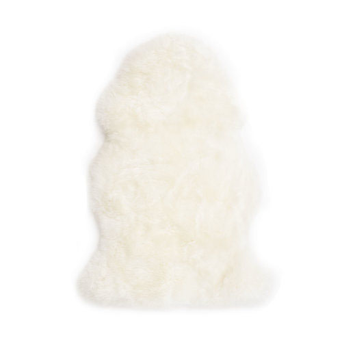 Ivory Long Wool Premium Sheepskin Made in Australia